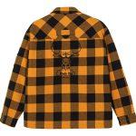 2020 Chicago Bulls Cotton Check Shirt Unisex 6