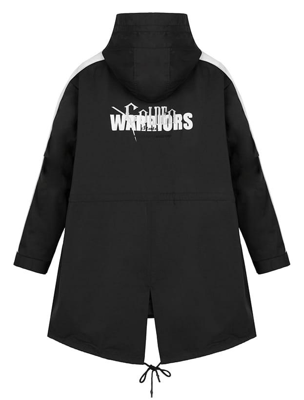2020 Golden State Warriors Black Down Jacket Unisex 2