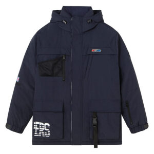 2020 LA Clippers Grey Down Jacket Unisex 1