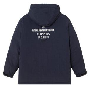 2020 LA Clippers Grey Down Jacket Unisex 2