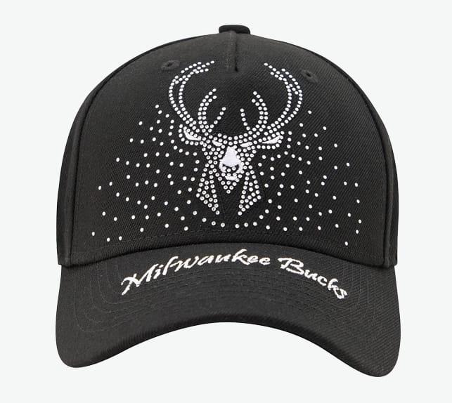 2020 NBA Milwakee Bucks Black Cap 2