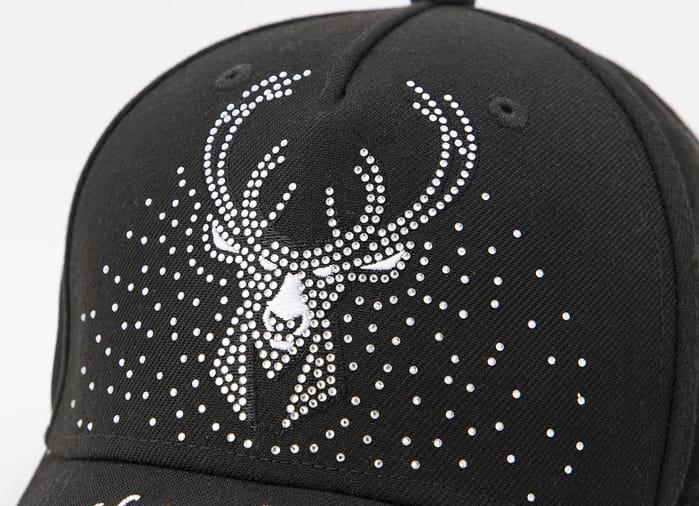 2020 NBA Milwakee Bucks Black Cap 4