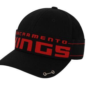 2020 NBA Sacramento Kings Black Cap 1