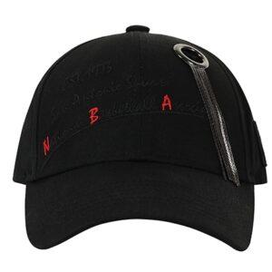 2020 NBA San Antonio Spurs Black Cap 2