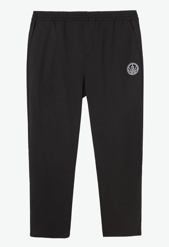 2020 NBA San Antonio Spurs Black Pants 1