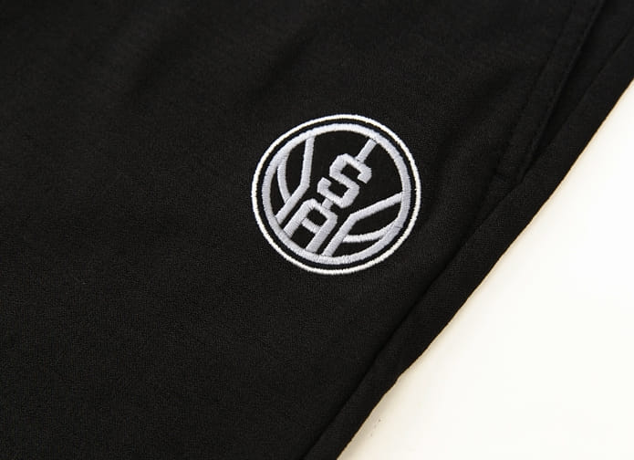 2020 NBA San Antonio Spurs Black Pants 3