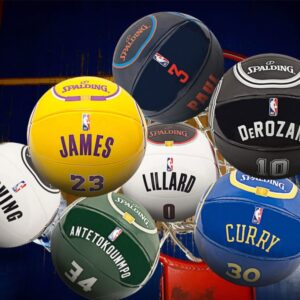 2020 NBA Spalding Basketball Ball 1