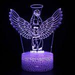 3D NBA Team Logo USB LED Lamp Colorful Night Light Gift 1