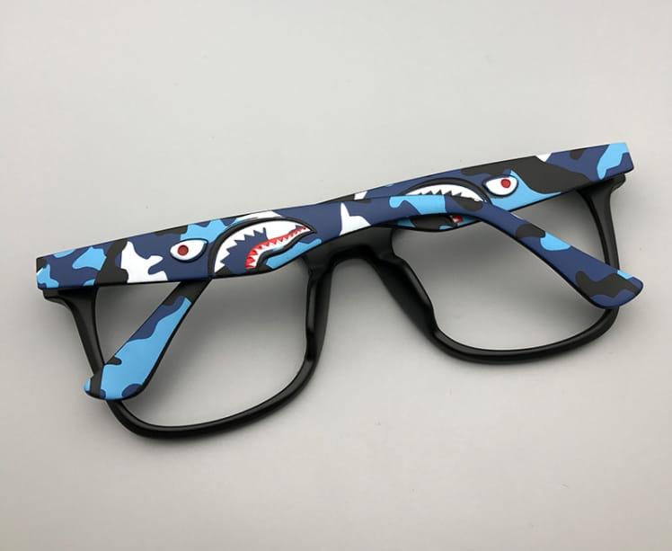 A Bathing Ape BAPE Shark Glasses Unisex 5
