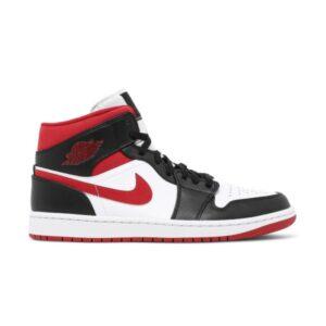 Air Jordan 1 Mid Black Gym Red