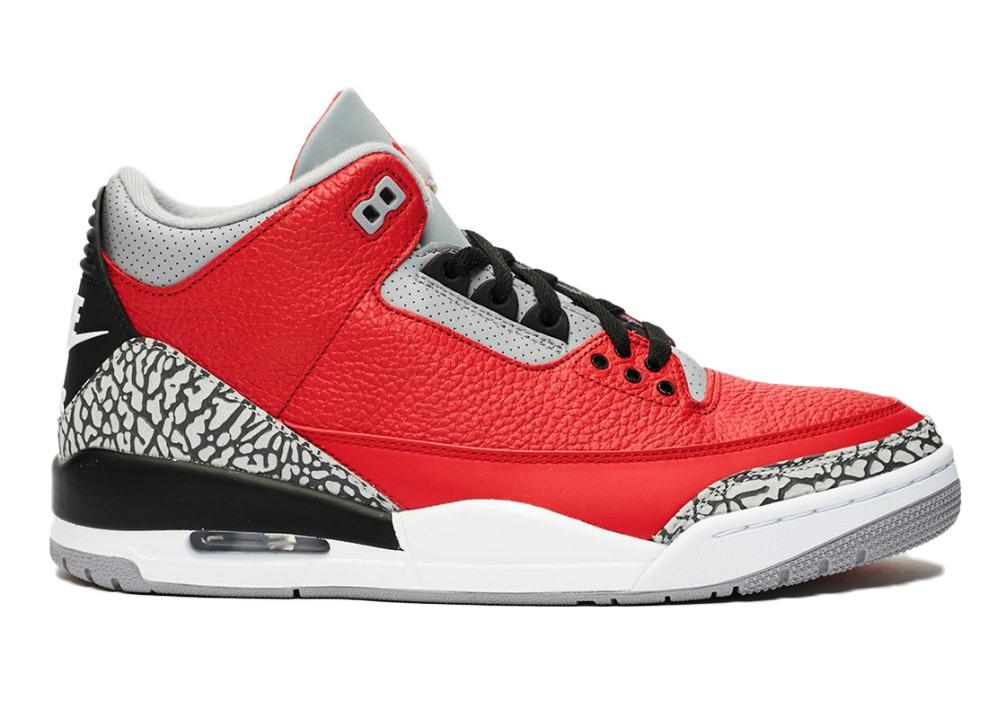 Air Jordan 10 samyh dorogih modelej 6. Air Jordan 3 OG Fire Red za 30 000
