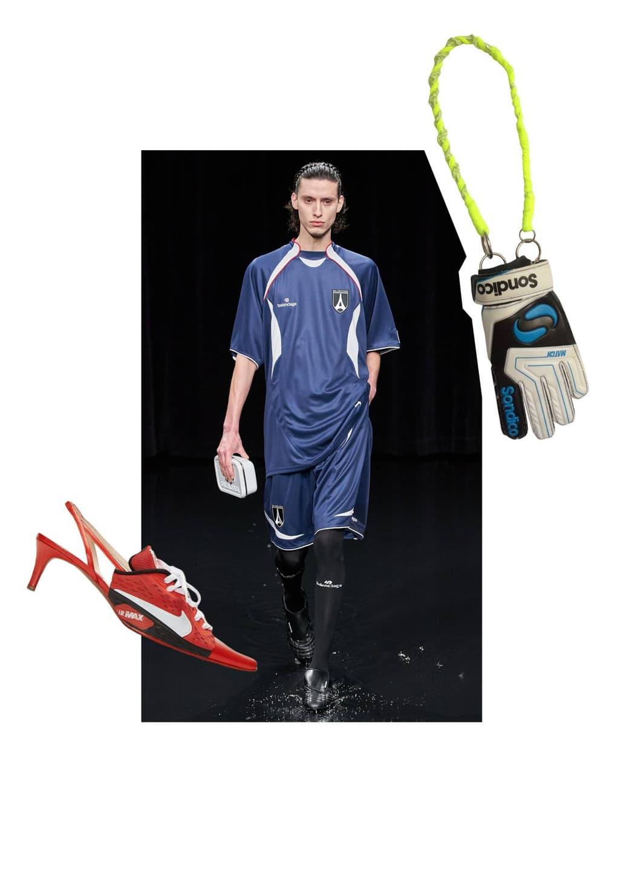 Futbol cherez prizmu mody sport vyhodit na podium