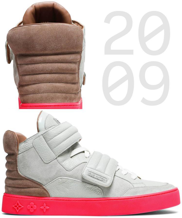 Istoriya Yeezy krossovki izmenivshie industriyu Kanye West x Louis Vuitton Jasper Patchwork 2009