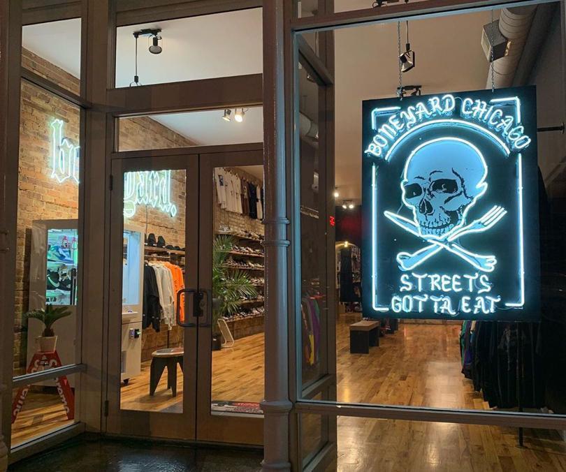 Magaziny krossovok v CHikago kotorye stoit posetit Boneyard