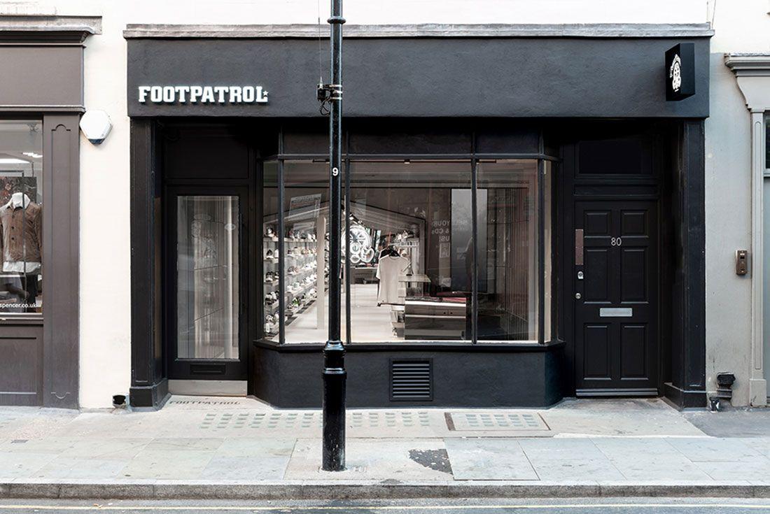 Magaziny krossovok v Londone kotorye stoit posetit Footpatrol Soho