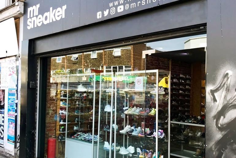 Magaziny krossovok v Londone kotorye stoit posetit Mr. Sneaker Bethnal Green