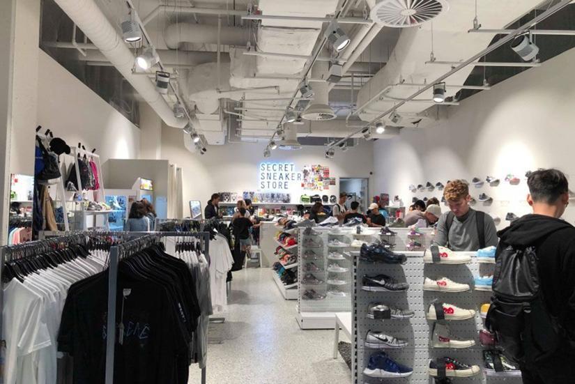 Magaziny krossovok v Melburne kotorye Vam stoit posetit Secret Sneaker Store Melbourne Central