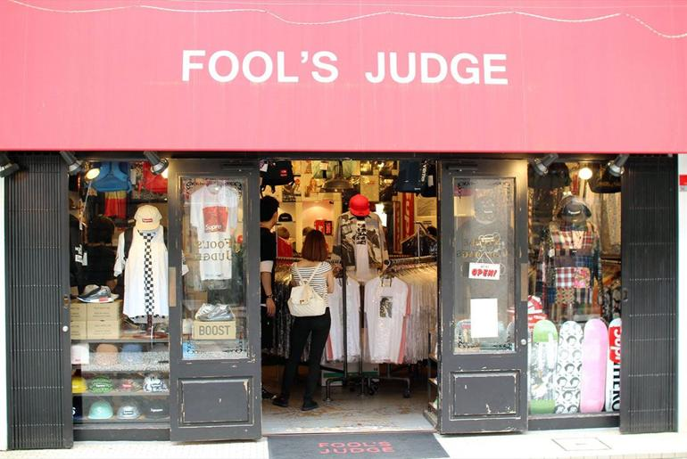 Magaziny krossovok v Tokio kotorye stoit posetit Fools Judge Harajuku