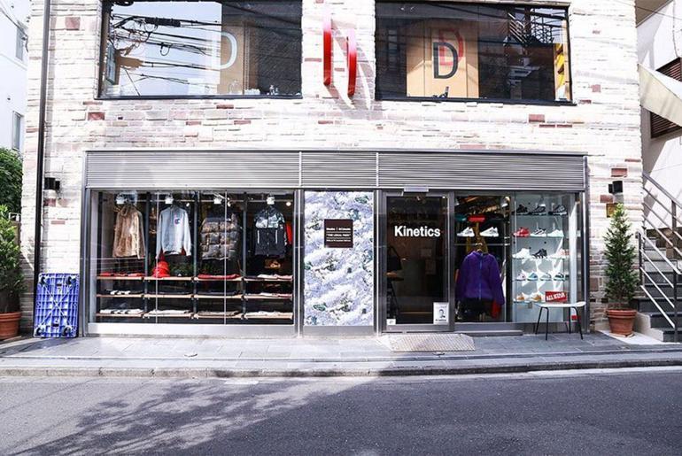 Magaziny krossovok v Tokio kotorye stoit posetit Kinetics Harajuku