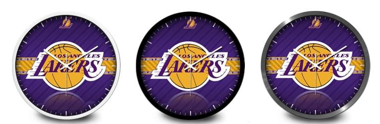 NBA Lakers Wall Clock 2