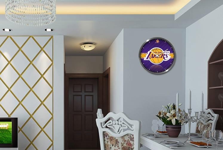NBA Lakers Wall Clock 3