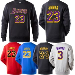 NBA Players Numbers Multicolor Sweatshirt 1