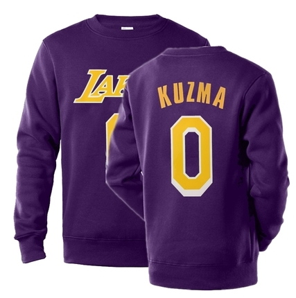 NBA Players Numbers Multicolor Sweatshirt 17