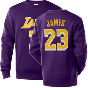 NBA Players Numbers Multicolor Sweatshirt 2