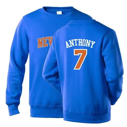 NBA Players Numbers Multicolor Sweatshirt 27