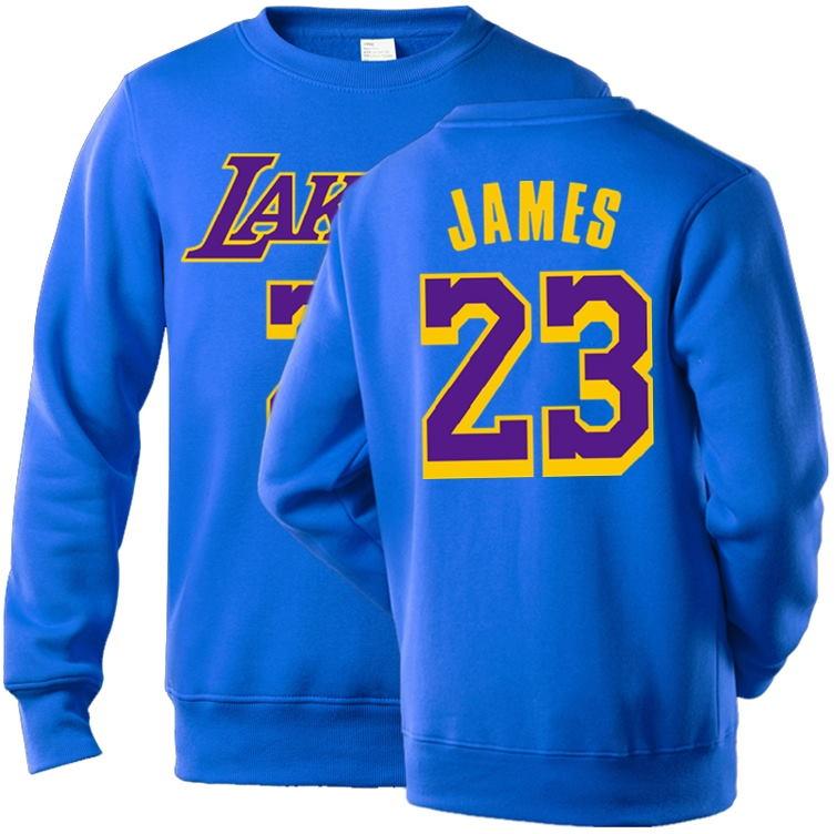 NBA Players Numbers Multicolor Sweatshirt 3