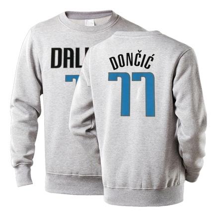 NBA Players Numbers Multicolor Sweatshirt 52
