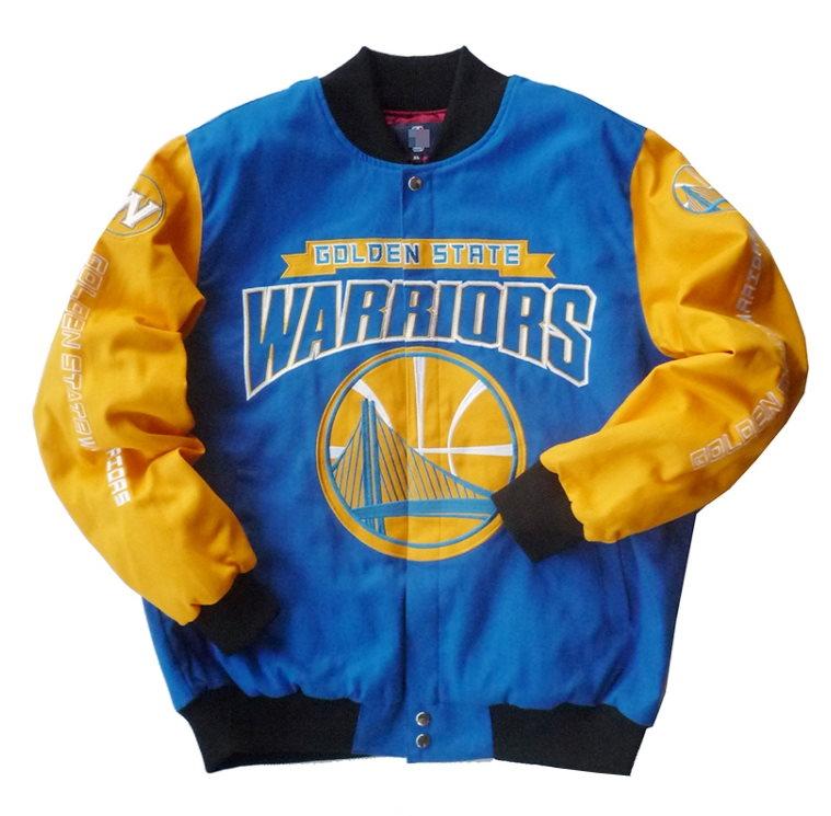 NBA Teams Multicolor Bomber Jackets 10