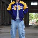 NBA Teams Multicolor Bomber Jackets 16