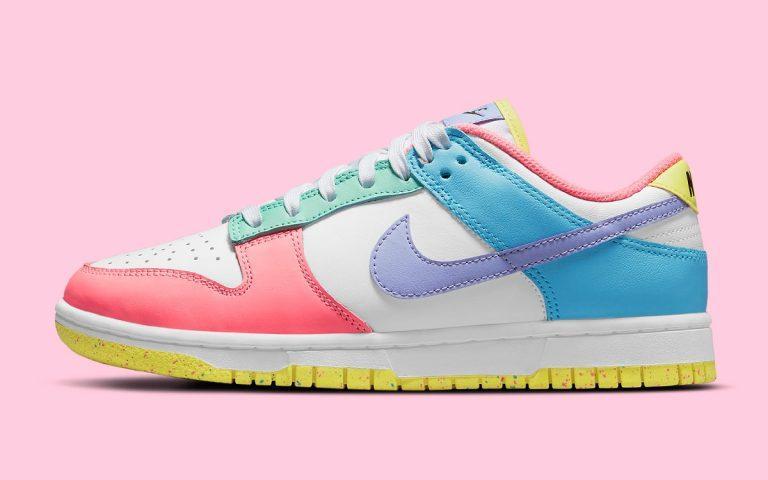 Pervye fotografii Nike Dunk Low Easter 1