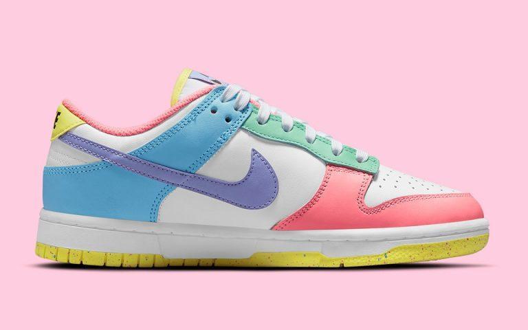 Pervye fotografii Nike Dunk Low Easter 2