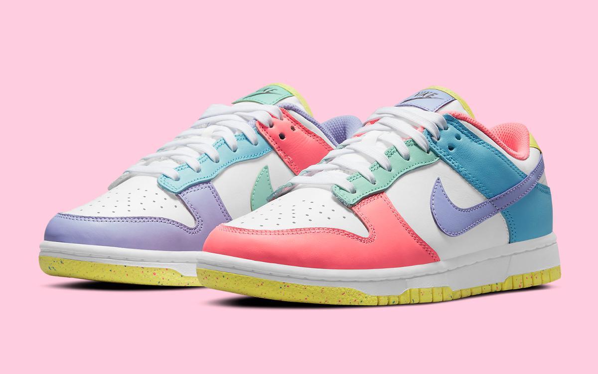 Pervye fotografii Nike Dunk Low Easter