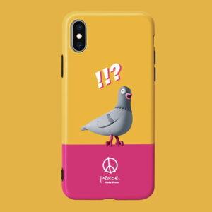 STAPLE PIGEON Black iPhone Case 2