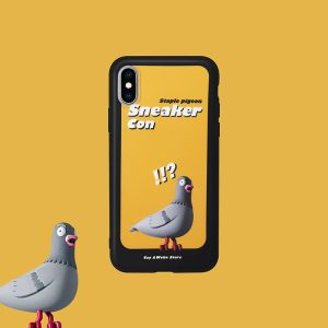 STAPLE PIGEON Yellow iPhone Case 1