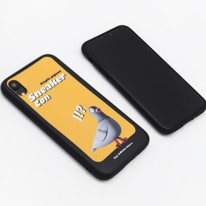STAPLE PIGEON Yellow iPhone Case 3