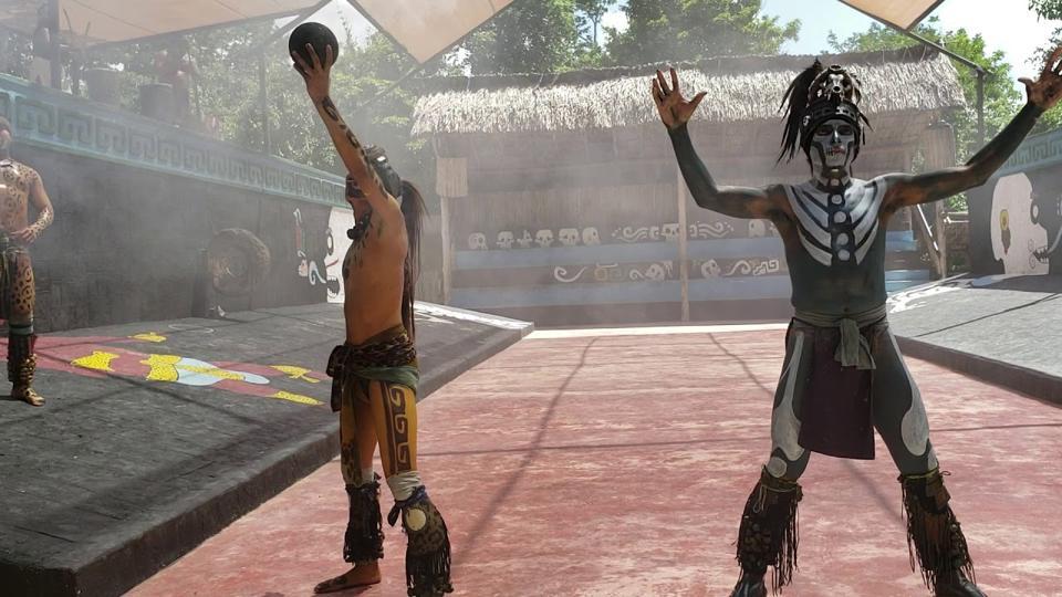 Vo chto igrali drevnie narody Latinskoj Ameriki Tehnicheskie momenty