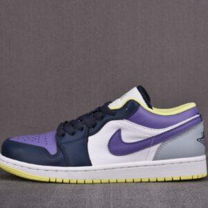 Wmns Air Jordan 1 Low SE Mismatched Purple Magenta 1