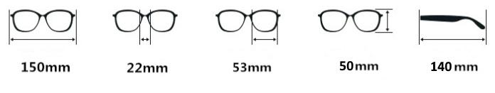 razmer glasses
