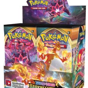 2020 Pokemon Sword Shield Darkness Ablaze Booster Box 1