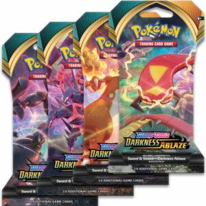 2020 Pokemon Sword Shield Darkness Ablaze Booster Box 2