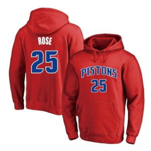2021 NBA Derrick Rose Multicolor Hoodie 1
