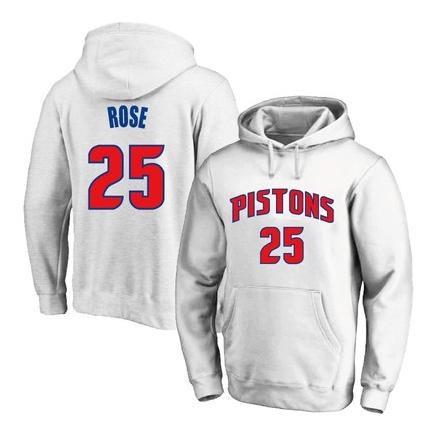 2021 NBA Derrick Rose Multicolor Hoodie 2