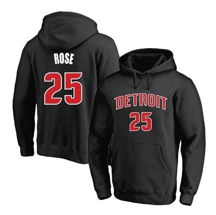 2021 NBA Derrick Rose Multicolor Hoodie 4