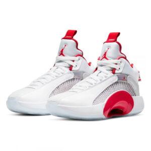 Air Jordan 35 GS White Fire Red 1