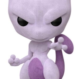 Funko Pop Games Pokemon Mewtwo Flocked Summer Convention Exclusive Figure 581 2