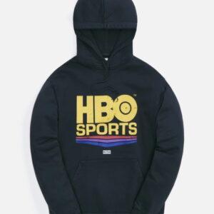 HBO Sports x Kith Vintage Hoodie Black 1